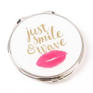 Papyrus Just Smile Compact Mirror